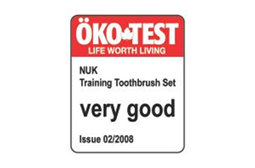 [Translate to South Africa:] Germany 2008: Very Good – Training Toothbrush Set