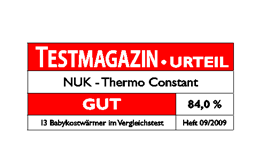 [Translate to South Africa:] Germany 2009: Good – NUK Baby Food Warmer Thermo Constant