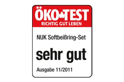 [Translate to South Africa:] Germany 2012: Very Good – NUK Connect-and-Play Teething Ring Set