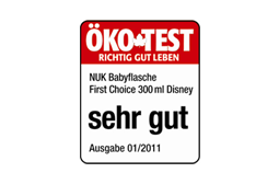 [Translate to South Africa:] Germany 2011: Very Good – NUK First Choice+ 300ml Bottle Disney