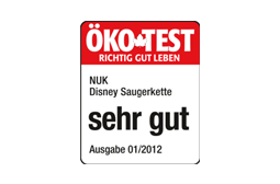 [Translate to South Africa:] Germany 2012: Very Good – NUK Soother Chain Disney