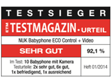 [Translate to South Africa:] Germany 2014: NUK Babyhone ECO Control+ Video