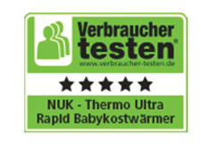 [Translate to South Africa:] Germany 2013: Very Good - NUK Babyfood Warmer Thermo Ultra Rapid
