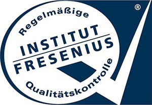 [Translate to South Africa:] Logo of the independent German Fresenius Institute