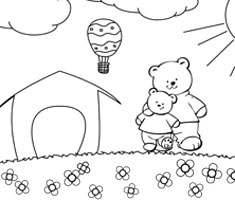 [Translate to South Africa:] NUK colouring page