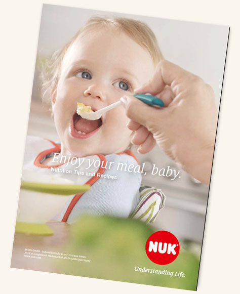 [Translate to South Africa:] NUK Kids Food Recipe Booklet