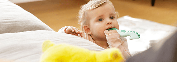 Baby with All Stages Teether